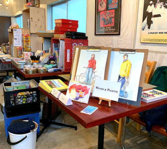 REPORT North Lake Cafe & Books 似顔絵イベント